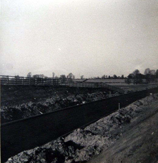 By-pass being built 1963/4