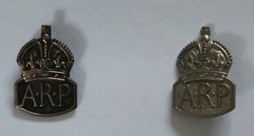 Air Raid Wardens Badges c.1940