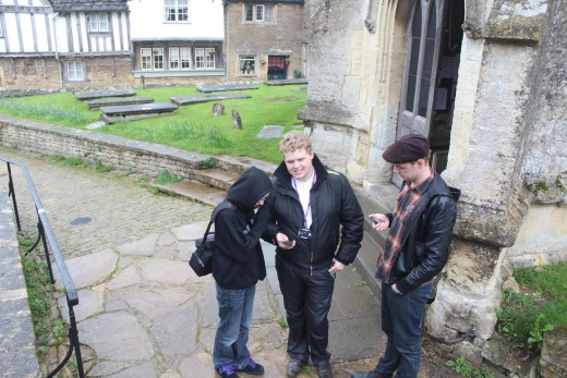 Wiltshire College Students in Lacock