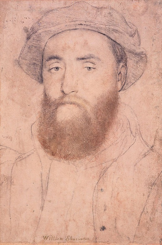 Sir William Sharington by Hans Holbein the Younger